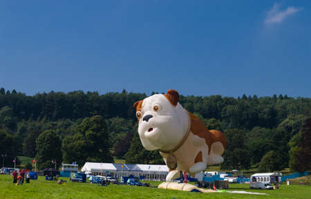 One of the featured balloons at the Bristol Internation Balloon Festival 2012 Editorial