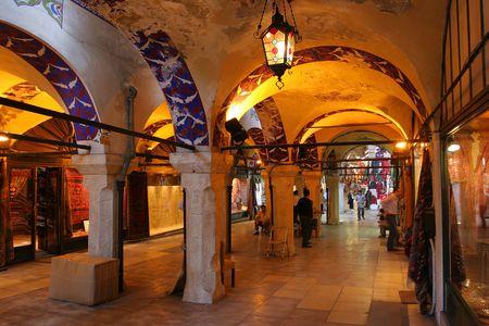 The Grand Bazar in Istanbul, Turkey