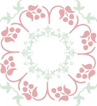 color ornamental flower Stock Vector - 1665476