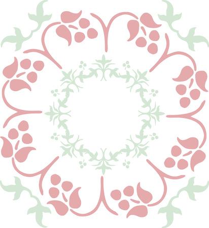 color ornamental flower Stock Vector - 1665476