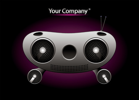 Radio music editable vector Stock Vector - 3875945