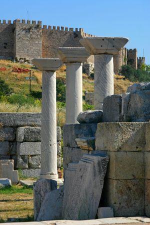 john the baptist: Church ruins of John the Baptist