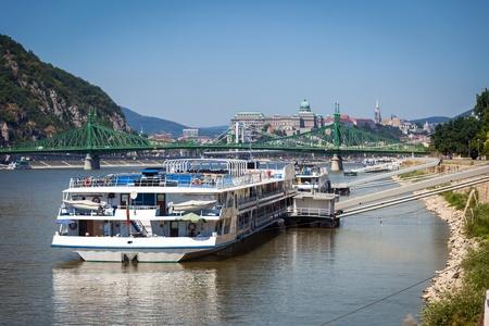 Danube River Cruise Ships Cruise Ships Docked on Danube