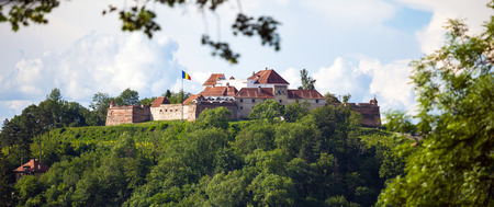 cetatuia: Brasov, Romania - November 7, 2012: Old fortress Cetatuia on a sunny summer day, Brasov, Romania Editorial