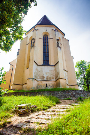 gothic church:  Church of the Hill from Sighisoara medieval city, Transylvania, Romania