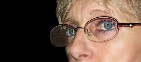 Woman carrying glasses Stock Photo