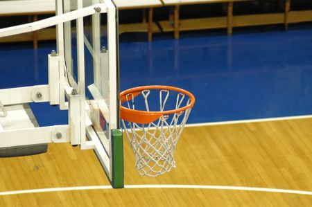 Basketball court detail Stock Photo - 256838
