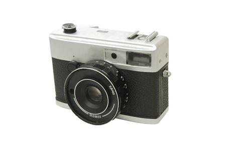 35: Antiguo c�mara de 35 mm  Foto de archivo