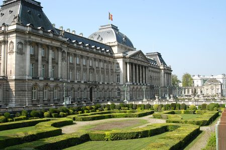 du ร    ก ร: Palace du Roi in Brussels, Belgium