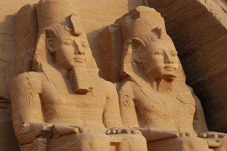 reign: Abu Simbel colossus, Egypt