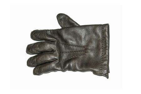 leather glove: Leather glove