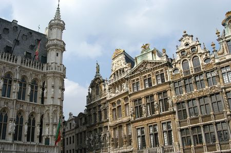 bruxelles: Grand Place in Brussels, Belgium Stock Photo