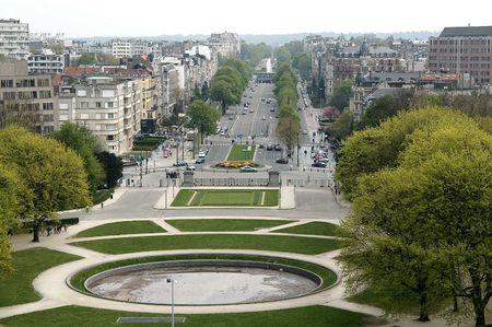 du ร    ก ร: Parc du Cinquantenaire, Brussels, Belgium