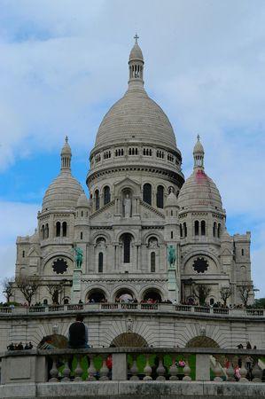 coeur: Sacre Coeur kerk, Parijs, Frankrijk