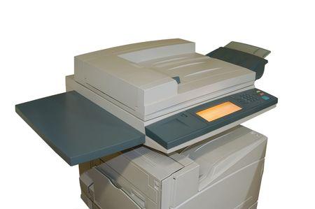 copier: Colour Laser copier Stockfoto