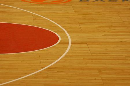 basketball court: Basketball court