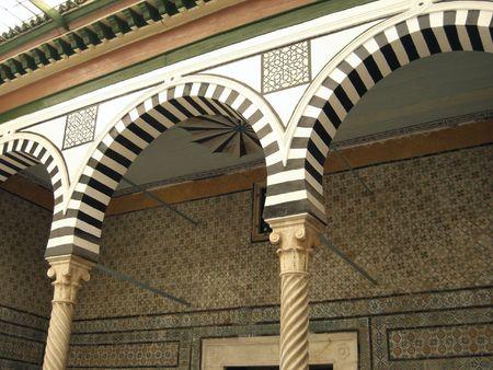 tunis: Interior of Bardo Museum, Tunis, Tunisia