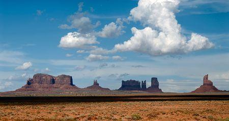 monument valley: Monument Valley scenario, Arizona