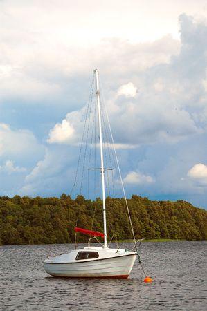 Der See Plateliai in Litauen.