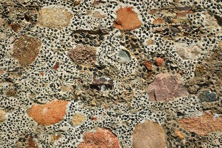 An motley stone background
