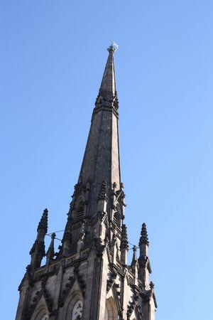 st pauls: St. Pauls Presbyterian Church - detail 03. One of the beautiful Presbyterian Churches located in downtown Hamilton, Ontario. Main tower Detail.