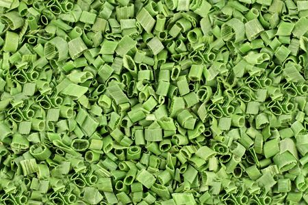 freeze dried: Cebollinos secas - de antecedentes. Antecedentes - Ingrediente Congelaci�n secas Cebollinos ideal para imprimir sobre el embalaje o la publicidad de materiales.
