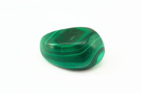 Malachite Birth Stone. The Picture of Birth Stone is made in light box with 7 light sources 50 mmf 2.8 and 20 mm extension tube. It has all positives and negatives of macrophotography.