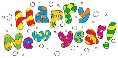 Happy New Year! Vector