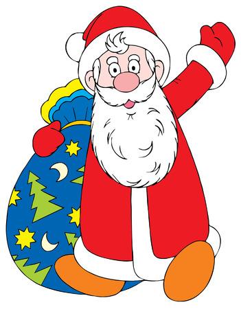 Santa Clause Stock Vector - 1479564