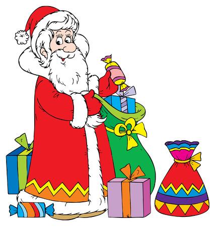 Santa Clause (vector) Stock Vector - 2009166