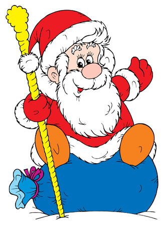 Santa Clause (vector) Stock Vector - 2009165