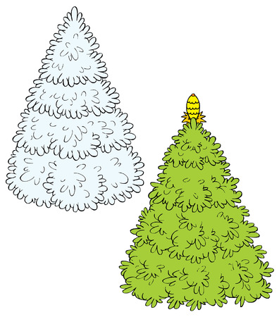 Christmas Tree (vector) Stock Vector - 2009172