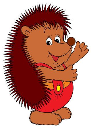 egel: Hedgehog (vector)