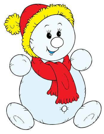 Snowman (vector) Vector