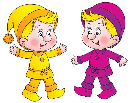 kabouters: Gnomes  Stockfoto