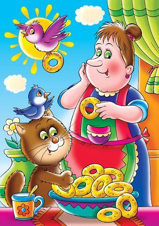 bign�: Frittelle dolci