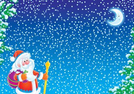 Christmas background Stock Photo - 2242368