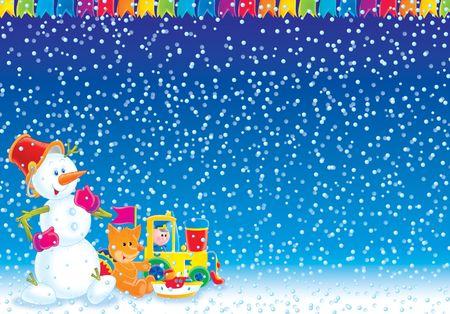 Christmas background Stock Photo - 2242394