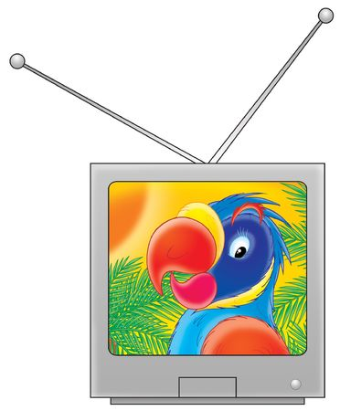 kiddish: TV set
