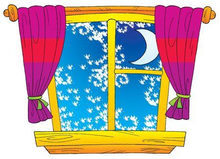 Winter Window Stock Photo - 2544060