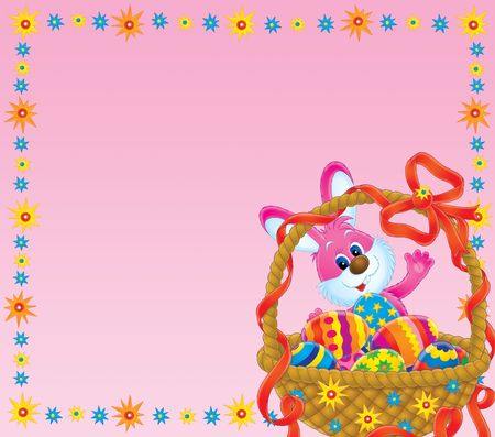 Easter background Stock Photo - 2347896