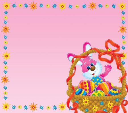 paskha: Easter background Stock Photo