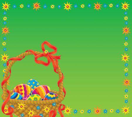 eastertide: Easter background Stock Photo