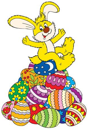 buona pasqua: Buona Pasqua!  Vettoriali