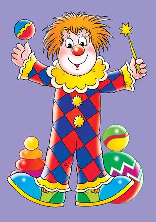 top animated: Clown