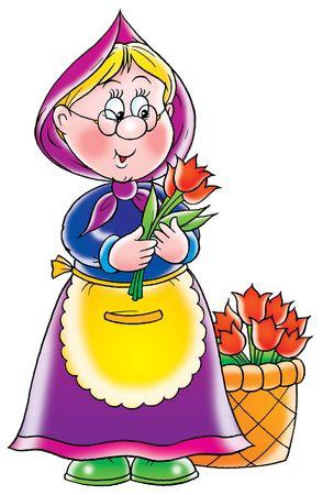 seller: Flower seller