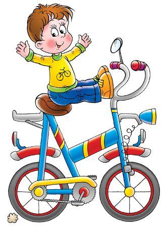 racing bike: Bicyclist