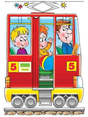 kiddish: Tram
