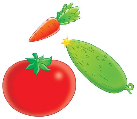 funny tomatoes: Vegetables
