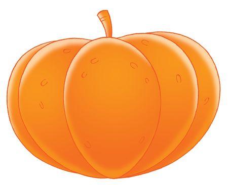 kiddish: Pumpkin Stock Photo